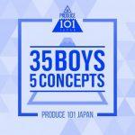 [Album] PRODUCE 101 JAPAN – 35 Boys 5 Concepts (2019.11.29/MP3/RAR)